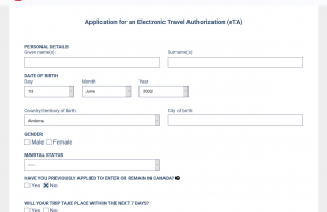 eta Canada application form